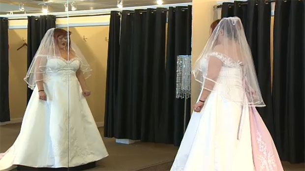 Calgary wedding shop sets up bride with gown for her big day | CTV ...