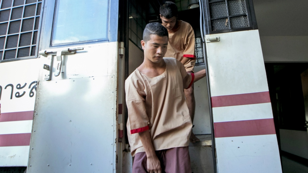 Thai Court upholds death for 2 Burmese in British murders