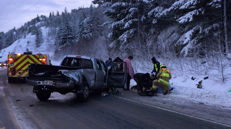 Caution urged after second bad crash on Sea-to-Sky Highway