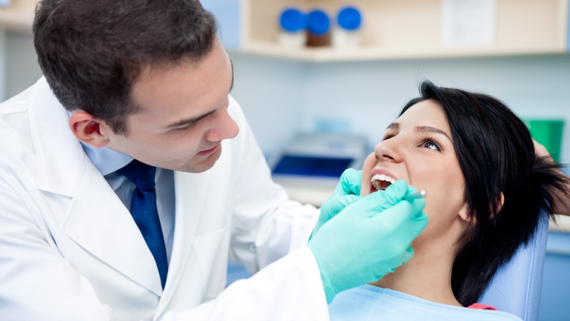 Bioactive glass, which is more resistant to bacteria, could be used in the tooth fillings of the future, according to new research. (Lucky Business/Shutterstock.com)