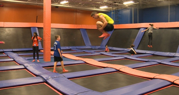 Dangers of trampoline ankle