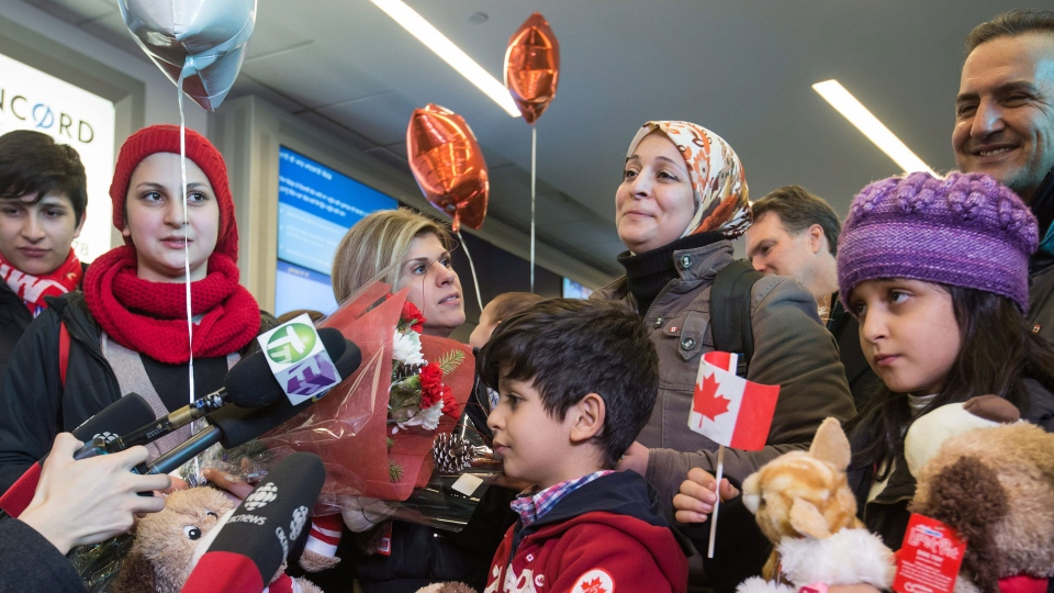 Kurdi family in Canada