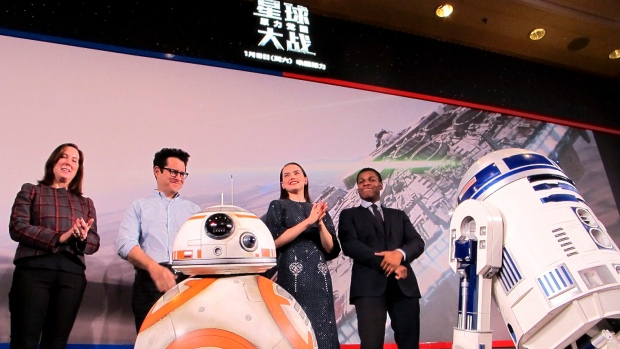 Star Wars actors, producer and director in China