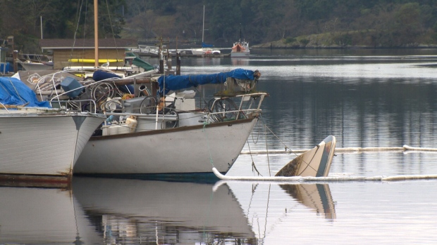derelict boats