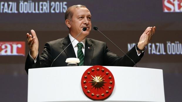 Trukey's Erdogan slams Russia for backing Assad