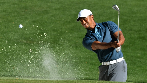 Tiger Woods is pictured. (AFP PHOTO / JEWEL SAMAD)