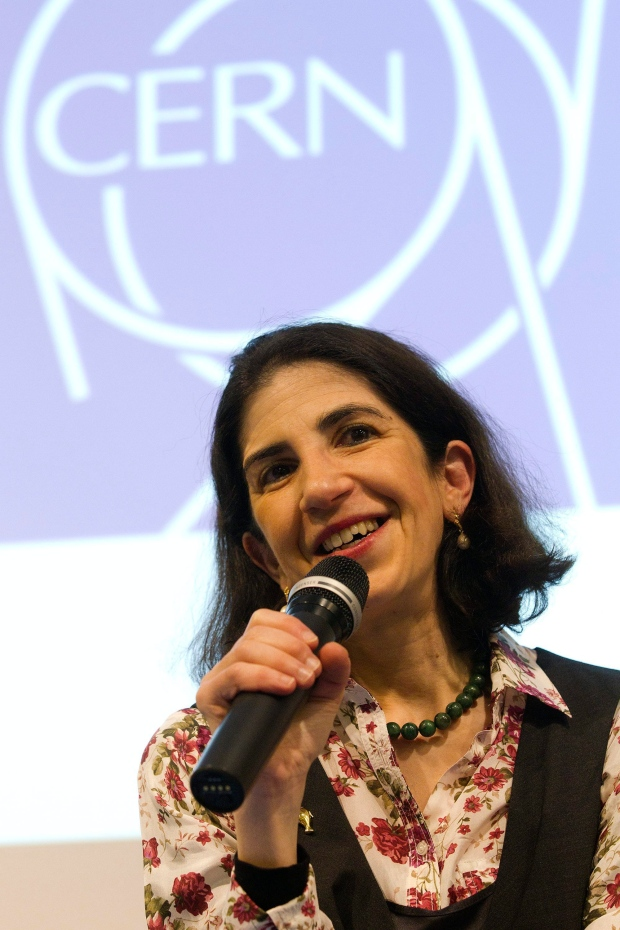 Fabiola Gianotti of CERN