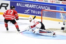 Canada's Mathew Barzal, Canada vs Switzerland