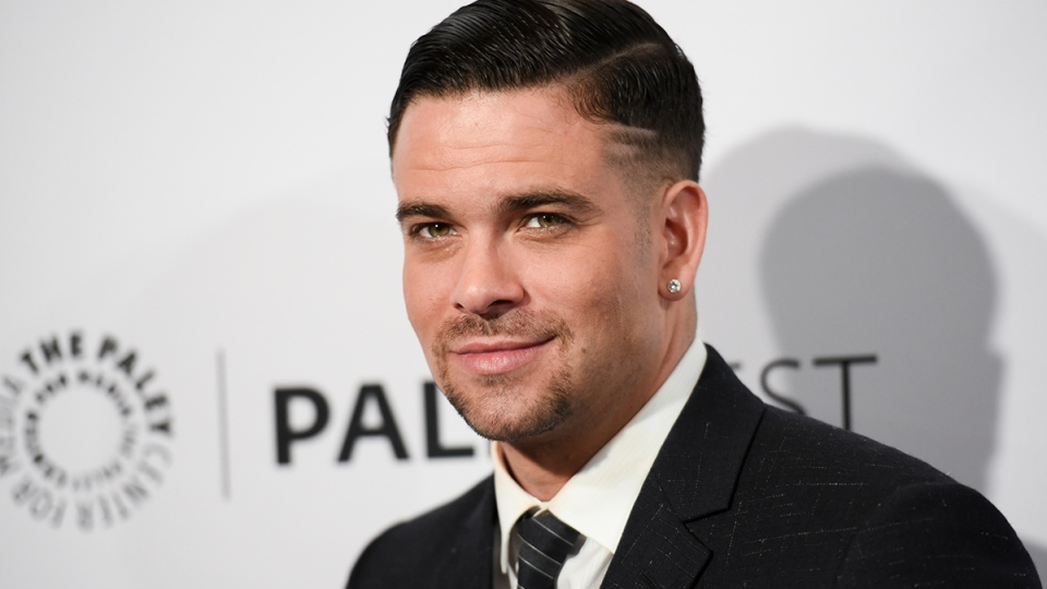 "Mark Salling arrives at the 32nd Annual Paleyfest ""Glee"" held at The Dolby Theatre in Los Angeles, March 13, 2015. (AP / Richard Shotwell / Invision)"