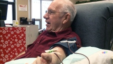Man donates blood 800 times