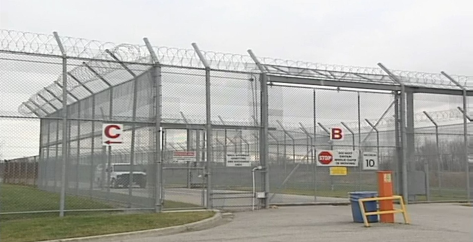 The Elgin Middlesex Detention Centre is seen in London, Ont. on Friday, Dec. 18, 2015.
