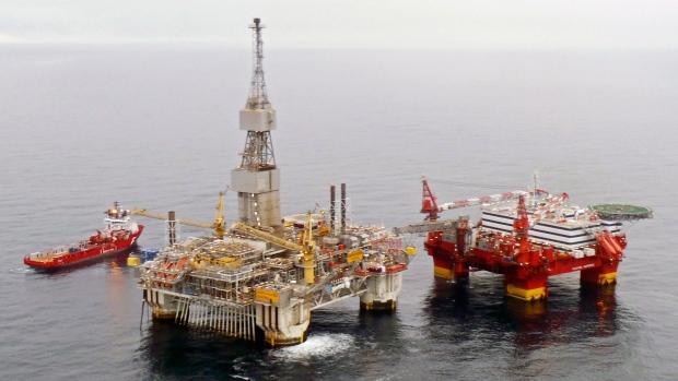 A Statoil rig