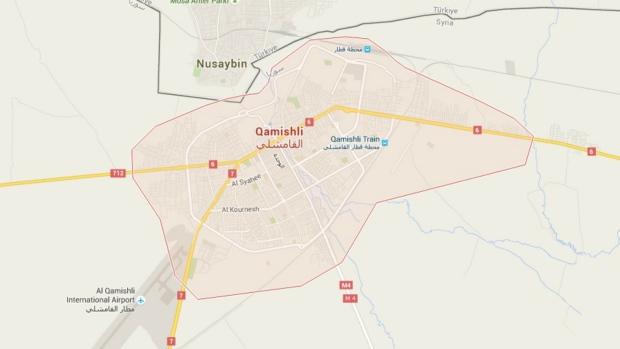 Explosions rock Qamishli