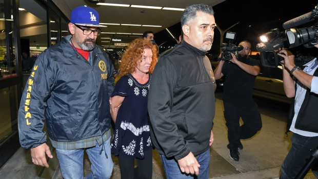 Tonya Couch arrives in USA