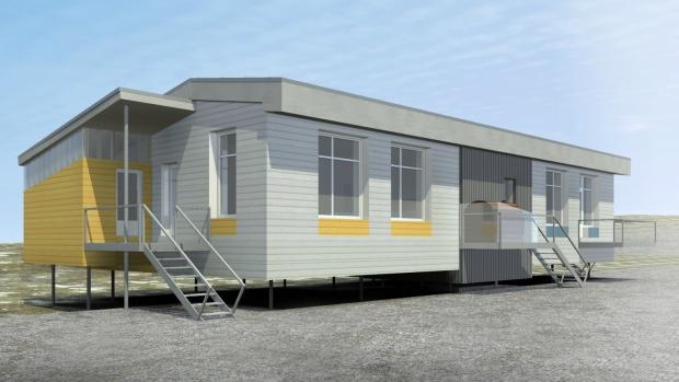 Quebec social housing unit