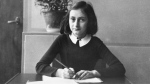 Anne Frank at 12 years old. (AFP PHOTO)