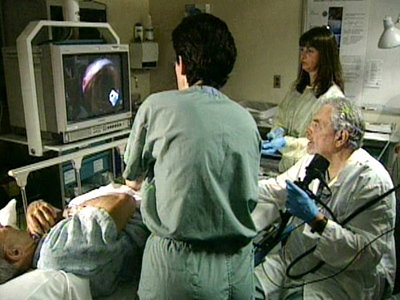 The study on the effectiveness of colonoscopies was conducted by researchers at Toronto's St. Michael's Hospital.