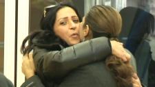 Syrian refugee Layla Machtoub