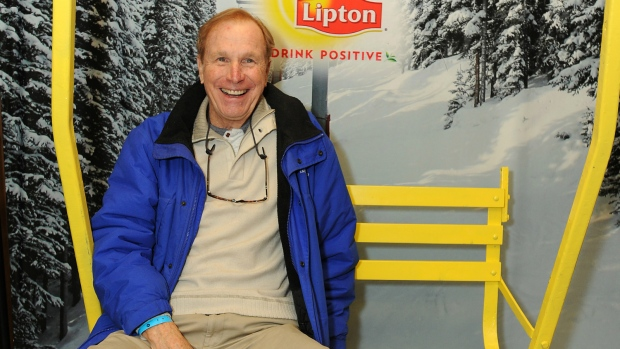 Actor Wayne Rogers seen in Utah