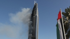 Address hotel in Dubai still smoking