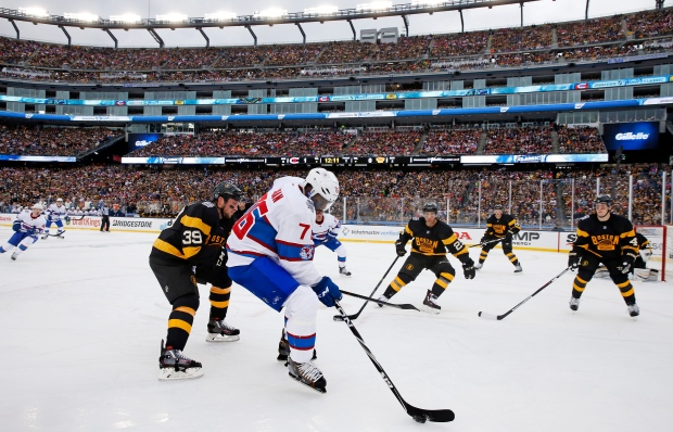 Subban skates past Beleskey at Winter Classic