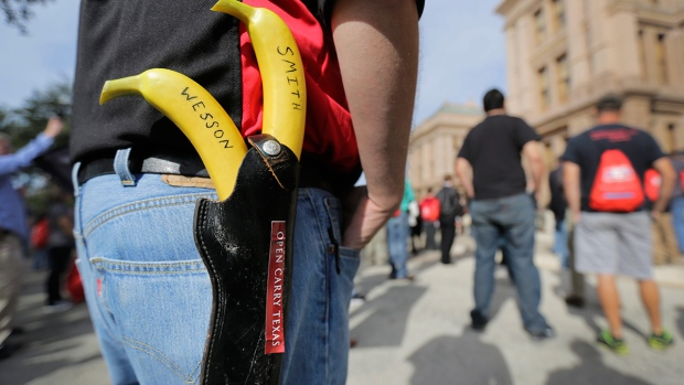 Debate on open carry gun laws