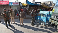 Attack on Indian air force base in Pathankot