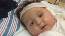 Ailing toddler waiting for kidney transplant