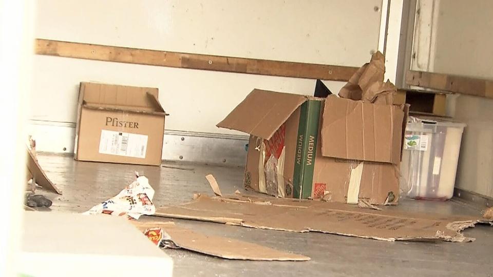 CTV Saskatoon: Stolen U-Haul found empty
