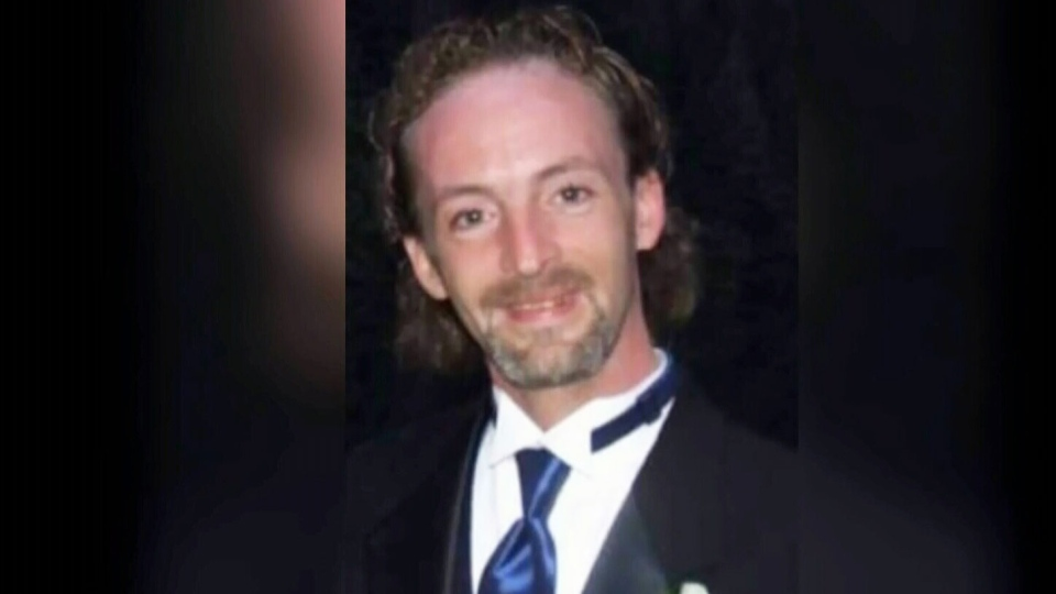 Wade Bathurst, 39, is seen in this undated image taken from video.