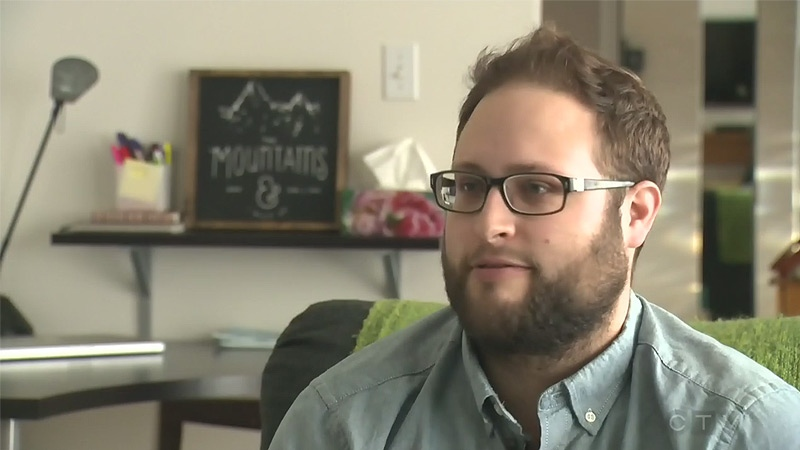 Matthew Lindsay speaks to CTV Edmonton about his $1,100 Uber bill.