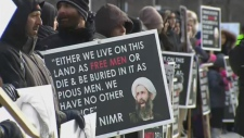 Torontonians protest execution of Shiite cleric