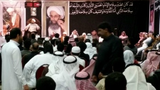 Mourners gather to honour executed cleric
