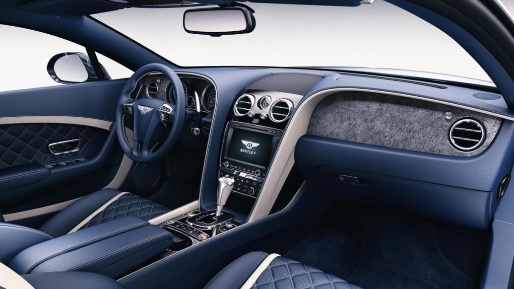 Bentley stone veneers by Mulliner