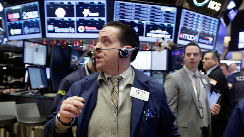 U.S. stock indexes end mostly higher after volatile day