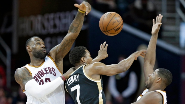 Cavaliers beat Raptors on Jan. 4, 2016