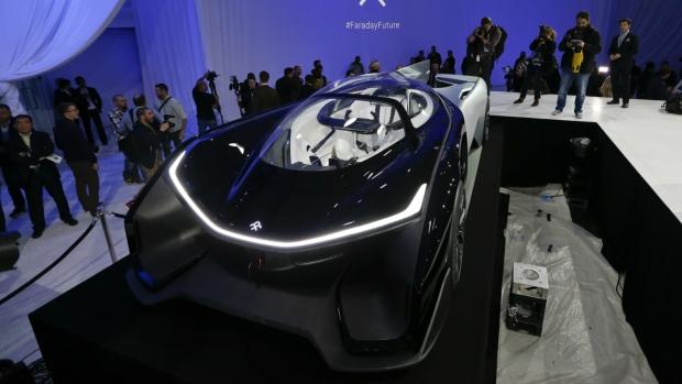 Faraday Future unveils concept car