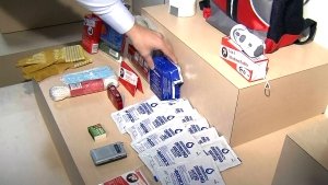 A B.C. company says their emergency kits are on backorder following an earthquake province's