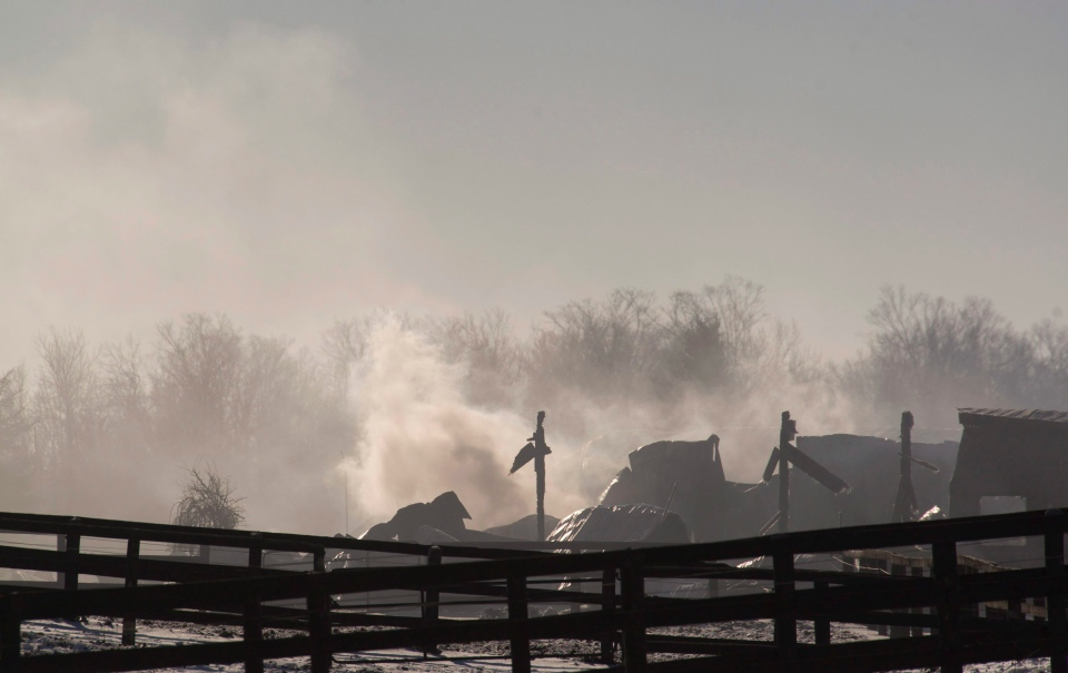 Classy Lane Stables fire