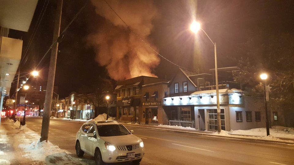 Massive fire damages multiple homes in Westboro | CTV News Ottawa