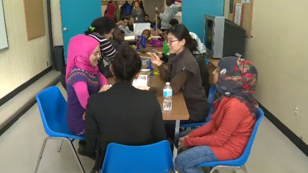 Syrian refugee students will go through a program at NEEDS Inc. before they enter the public school system.
