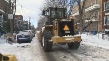 Montreal snow plow