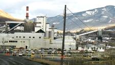 coal mine in Grande Cache, Alta.