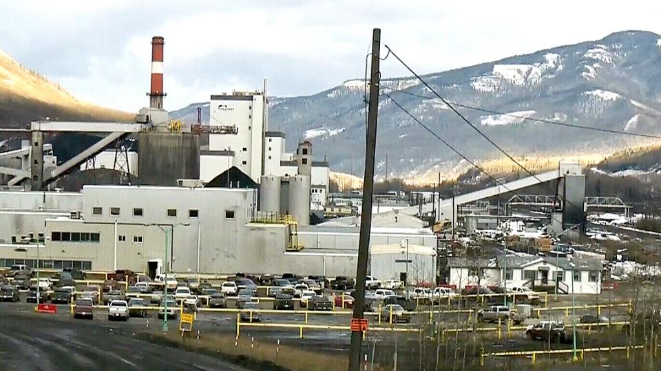 The recently-shuttered coal mine in Grande Cache, Alta.