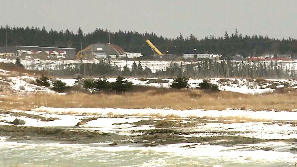 The Donkin Mine site in Sydney, N.S.