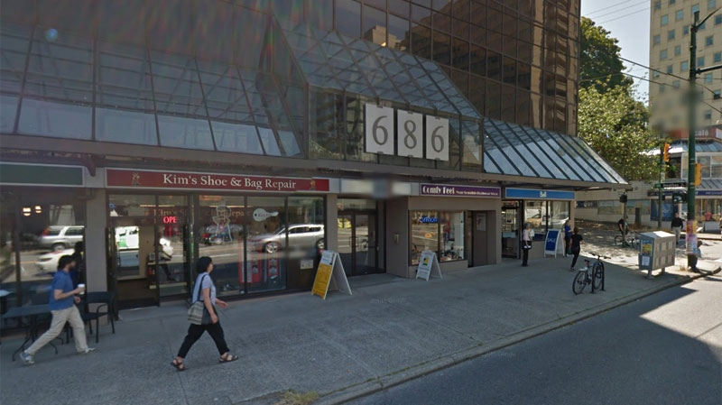 Vancouver police are probing two thefts at the BC Cancer Foundation's office on West Broadway. (Google Maps)