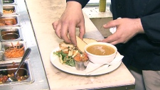 Indigenous meals at Neechi Commons,