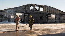 Classy Lanes Stables burns down in Puslinch, Ont.