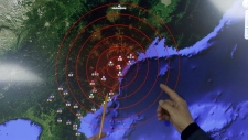 Epicentre of North Korea bomb test mapped out