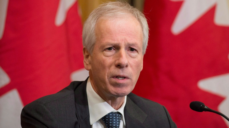 Foreign Affairs Minister Stephane Dion in Valletta, Malta, on Nov. 26, 2015. (Adrian Wyld / CP)